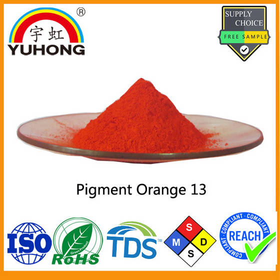 ink: Sell Pigment Orange 13 for ink,Plastic,coating,paint.  P. O.13