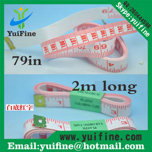 Wholesale tape measure: Hot Sell! 2m PVC White Tailor Tape Measure/2 Meters Long Soft Measuring Tape Hand Tools 79inch/200cm