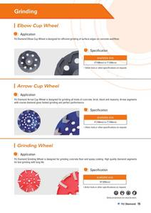Wholesale Shoe Care Product: Diamond Grinding Wheel