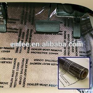 Wholesale carpet: Plastic DMR Film--Auto Carpet Protective Film--Auto Carpet Mask--Perforated Film