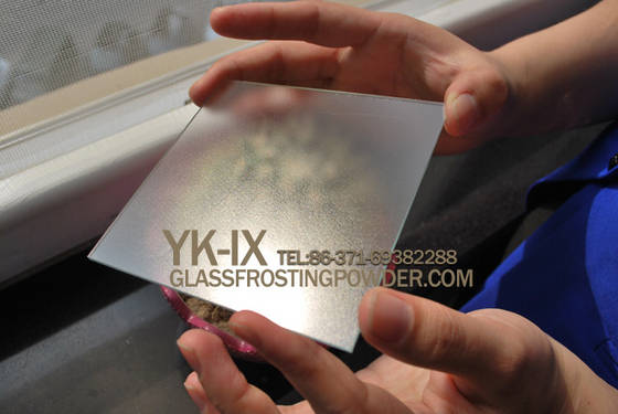 Sell oil-sand fingerprint-proof glass etching powder