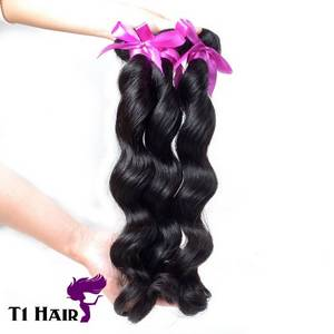 T1 Hair Mixed Length 3pcs Grade 7A Unprocessed Virgin Brazilian Loose Wave Hair Weft