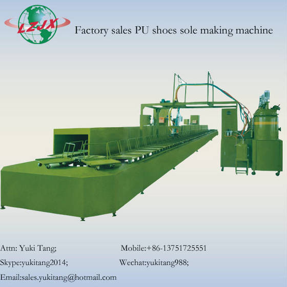 shoes: Sell Double Density/Color Shoe Sole PU Pouring Machine