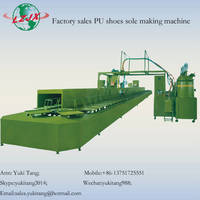Sell Double Density/Color Shoe Sole PU Pouring Machine