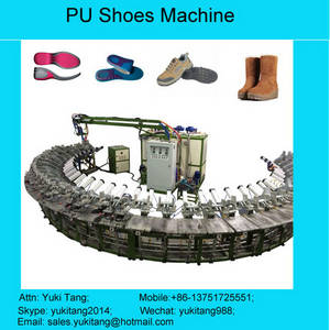 Wholesale pu shoe machine: PU Shoe Sole Injection Machine for PU Slippers