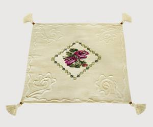 Wholesale embroidered cushion cover: Natural Unbleached Cotton Cushion Cover