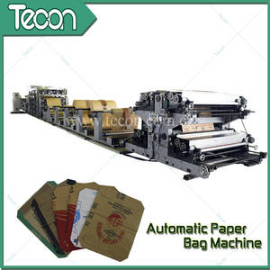 Wholesale pasted valve bag: Automatic Valve Paper Bag Machine