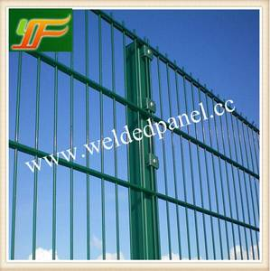 Wholesale Other Wire Mesh: Germany and UK Standard Double Wire Powder and PVC Coated Ornamental Double Wire Loop Football Fence