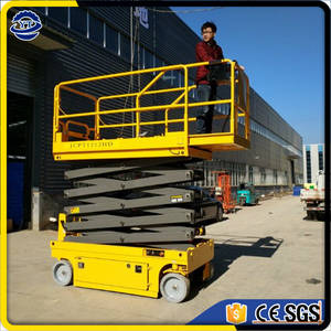 Wholesale scissor working platform: China Hydraulic Automatic Self Propelled Scissor Lift Aerial Work Platform