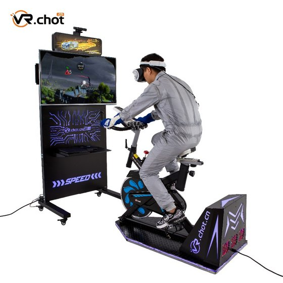 VR Bicycle  Fitness Equipment Amusement Park Game Device