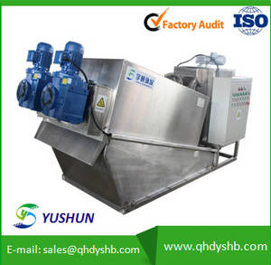 Wholesale sludge dewatering machine: Automatic Wastewater Sludge Volute Dewatering Press Machine Factory