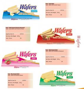 Wholesale Other Bakery: Wafers with Flavour Varieties