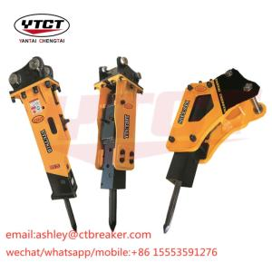Wholesale silenced: Manufacturer Chisel 140 Mm Silence Type Hydraulic Breaker