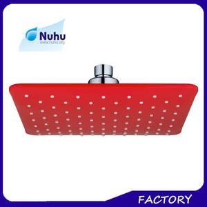 Wholesale Shower Heads: Hotsale Low MOQ Multi- Colored ABS Plastic Water Fall Rain Showers Heads