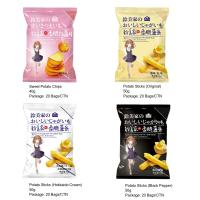 Potato Sticks with Japanese Packaging