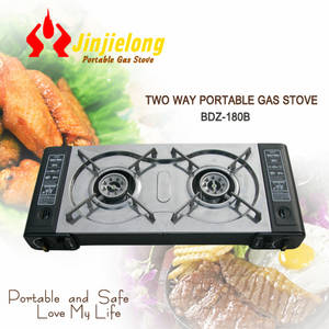 Wholesale gas burner: Double Burner Gas Stove for Camping