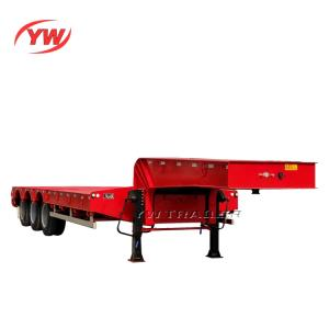 Wholesale heavy duty ladder: 40 Tons To 100 Tons Semi Trailer Low Bed