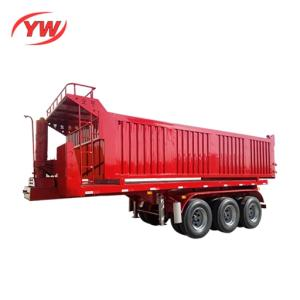 Wholesale cargo trailer: 3 Axles Dumper Cargo/Stone Semi Trailer