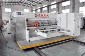 Wholesale automatic die cutting machine: 4 Colors Automatic High Speed Paperboard Flexo Printing Slotting Rotary Die Cutting/Cutter Machine