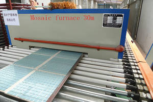 Wholesale glass furnace: Glass Mosaic Furnace30m