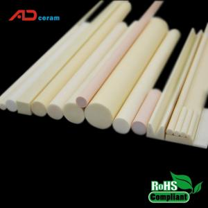Wholesale Ceramics: Well Polished Al2o3 Ceramic Shafts 99% High Purity Alumina Ceramic Rod 3mm