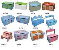 Wooden Baby Toy Storage,Box,Bench,Step With Toy Box
