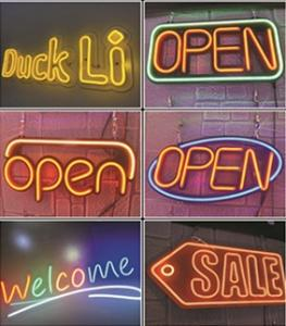 Wholesale led sign module: Welcome NEON LED Sign