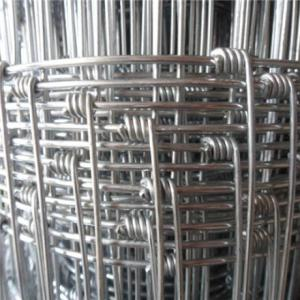 Wholesale roll top fence: Hinge Joint Galvanized Cattle Fence for Animals