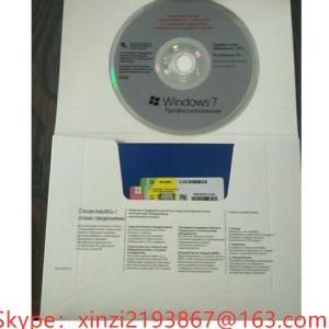 Wholesale windows 7 professional: Microsoft Windows 7/Win 7 Professional Edition OEM 32/64 DVD English Packaging Online Activation