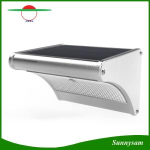 Wholesale microwave sensor switch: 4 in 1 Model 24 LED Microwave Radar Sensor Outdoor Garden Light Solar LED Wall Light