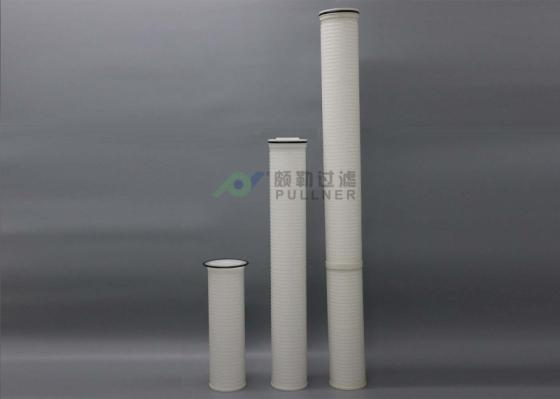 5micron Beta 5000 PP Pleated High Flow Filter Cartridges Amine Filtration