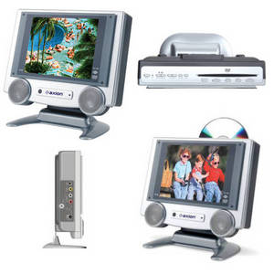 Wholesale mp3 players: Axion - AXN-7080 - 8.4 TFT LCD TV with Built-In DVD Player