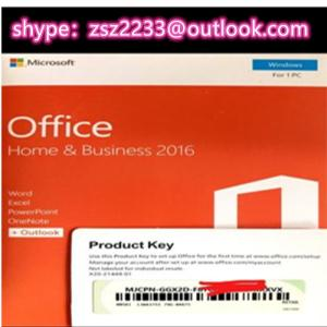 Wholesale business card case: Microsoft Office 2019 HB DVD Package Activation Key Code Office Home and Business 2019 Life
