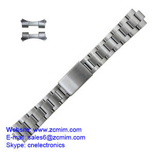 Wholesale gents watch: OEM Bracelets Gents Stainless 20mm Watch Band