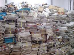 Wholesale waste: Waste Paper