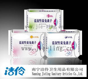 Wholesale anion: Supply Active Oxygen Anion Sanitary Napkins and OEM