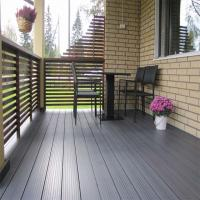 Recycled Anti-crack WPC Flooring Composite Decking Outdoor
