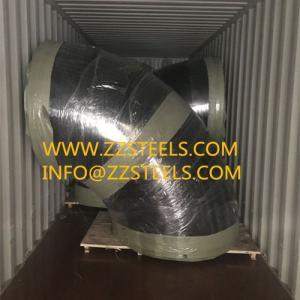 Wholesale 90 deg elbow: DN1400 90Deg Weld Elbow SS400