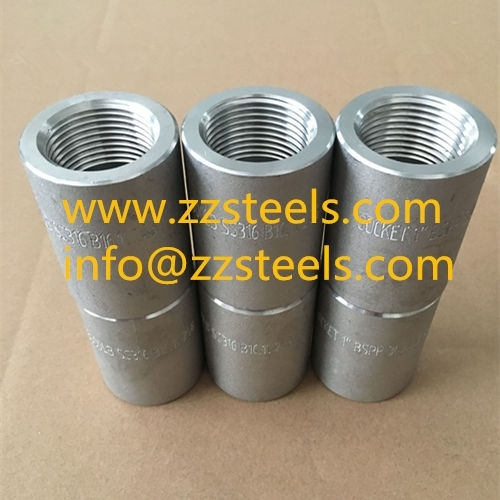 1 Inch Full Socket Class 3000 Stainless Steel Threaded Fittings
