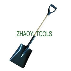 Wholesale shovel: 5002007 Long Neck Round Point Steel Shovel