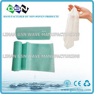 Wholesale disposable wipes: 2014 Hot Sale Disposable Spunlace Nonwoven Wiping Cleaning Cloth Rol