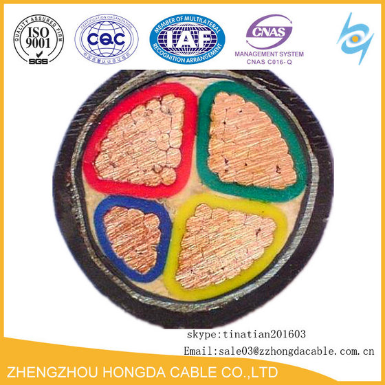 Armoured Cable 4 Core 95mm 120mm 0.6 /1KV  Underground Cable