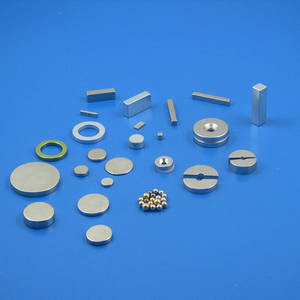 Wholesale arc segment magnets: N45 N52 Permanent Sintered Ndfeb Magnet