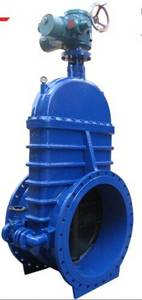 Wholesale ductile iron gate valve: Ductile Iron Big Size Resilient Seat Gate Valve with by-pass Valve