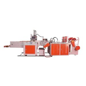 Wholesale static power converters: High Speed Full-automatic Double Line T-shirt Bag Making Machine