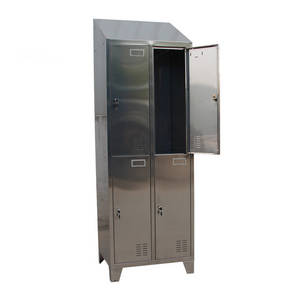 Wholesale powder coating locker: Four Door Stainless Steel Locker