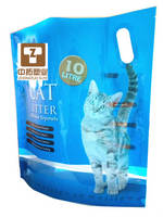 Custom Side Handle Cat Litter Bag 10L Cat Litter Bag Moistureproof Cat Litter Bag Standing CatLitter