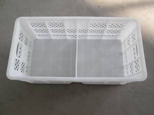 Wholesale preserved duck egg: Clapboard-type Plastic Poultry Eggs Transport Crate /Cage