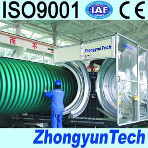 Wholesale corrugated pipe: Double Wall Corrugated Pipe Extrusion Line