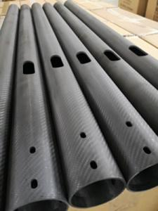 Wholesale table flag: Large Diameter 3k Twill Carbon Fiber Tubes